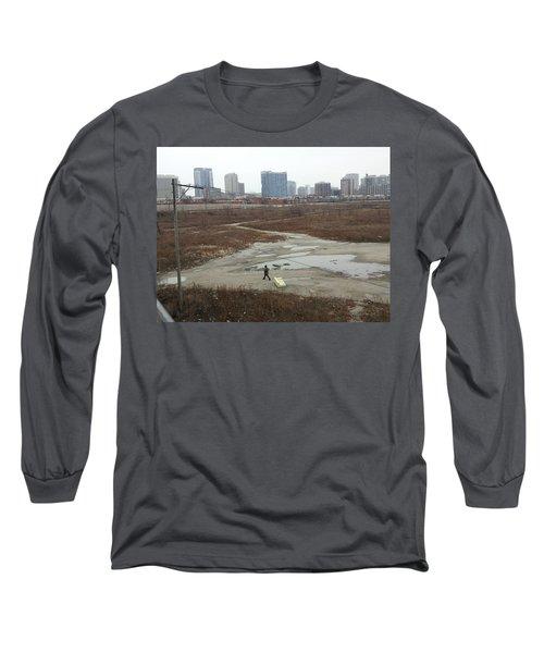 Commercial Break Long Sleeve T-Shirt
