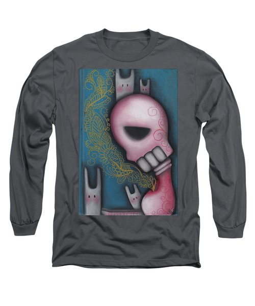 Companions Long Sleeve T-Shirt by Abril Andrade Griffith