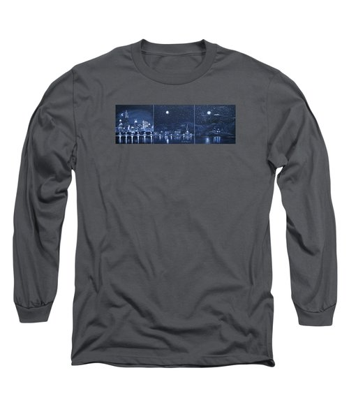 Competing Lights Long Sleeve T-Shirt