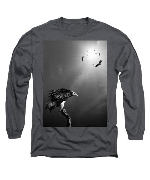 Conceptual - Vultures Awaiting Long Sleeve T-Shirt