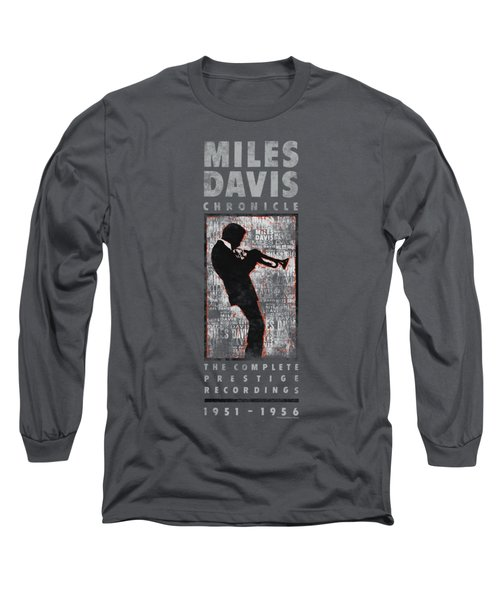 Concord Music - Miles Silhouette Long Sleeve T-Shirt