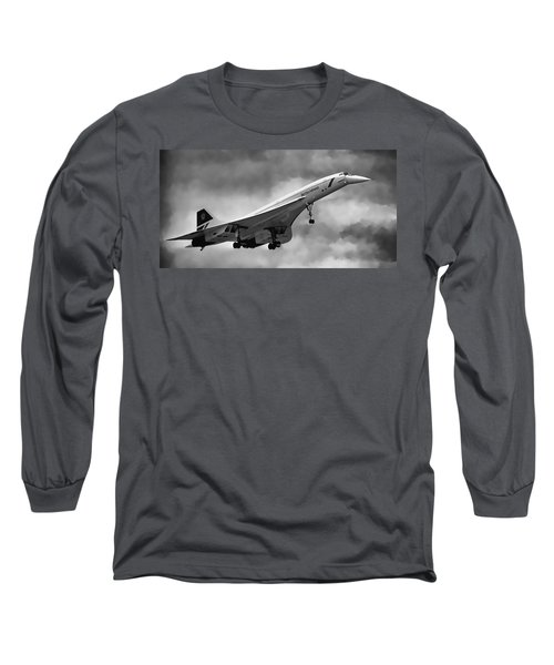 Concorde Supersonic Transport S S T Long Sleeve T-Shirt