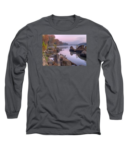Congaree River At Dawn-1 Long Sleeve T-Shirt