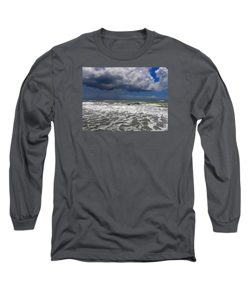 Conquering The Storm Long Sleeve T-Shirt by Sandi OReilly