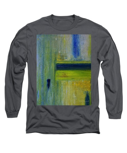 Contact Long Sleeve T-Shirt by Dick Bourgault