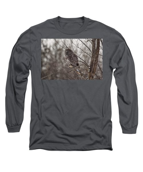 Contemplating Winter Long Sleeve T-Shirt
