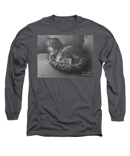 Contentment Long Sleeve T-Shirt by Pamela Clements