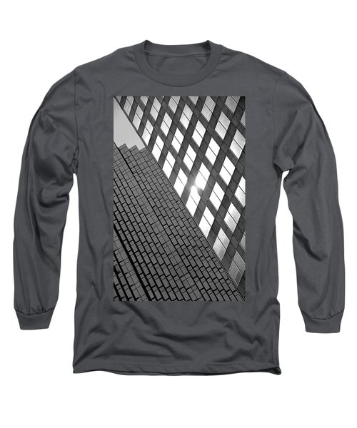 Contrasting Architecture Long Sleeve T-Shirt
