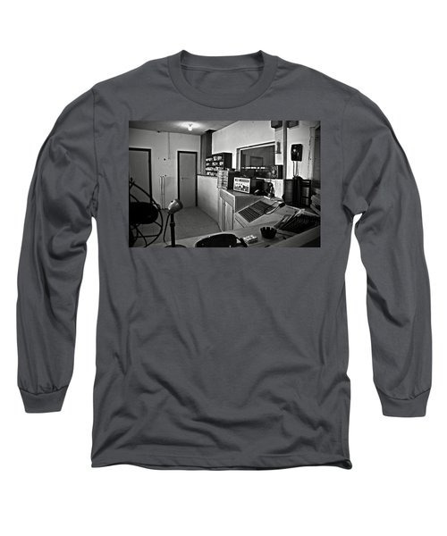 Control Room In Alcatraz Prison Long Sleeve T-Shirt