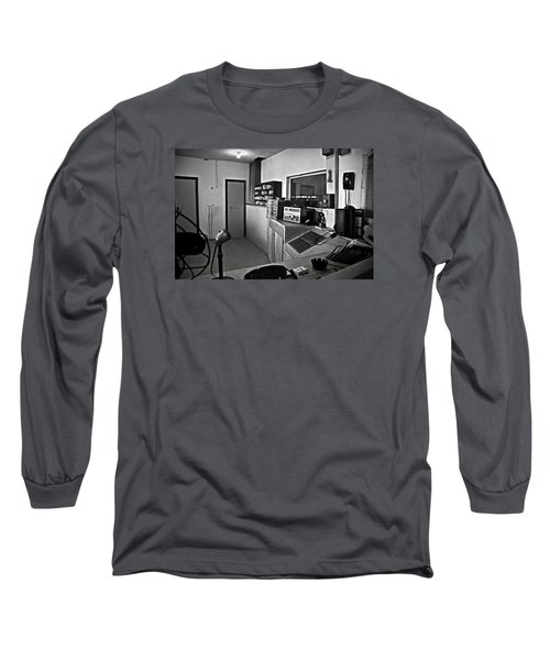 Control Room In Alcatraz Prison Long Sleeve T-Shirt