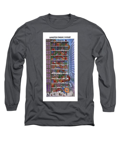 Converted Parking Garage Long Sleeve T-Shirt
