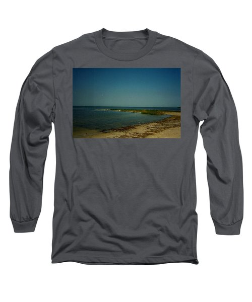 Long Sleeve T-Shirt featuring the photograph Cool Day For A Swim by Amazing Photographs AKA Christian Wilson