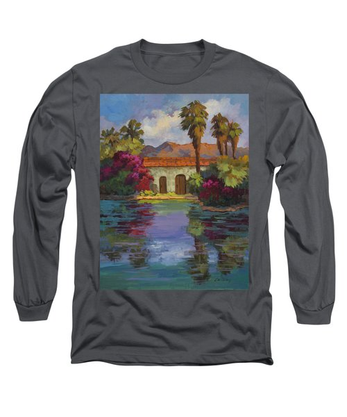 Cool Waters 2 Long Sleeve T-Shirt by Diane McClary