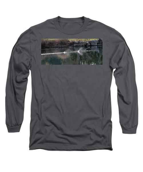 Cormorant Take-off Long Sleeve T-Shirt