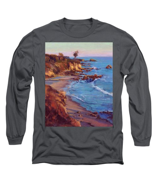 Corona Del Mar Newport Beach California Long Sleeve T-Shirt