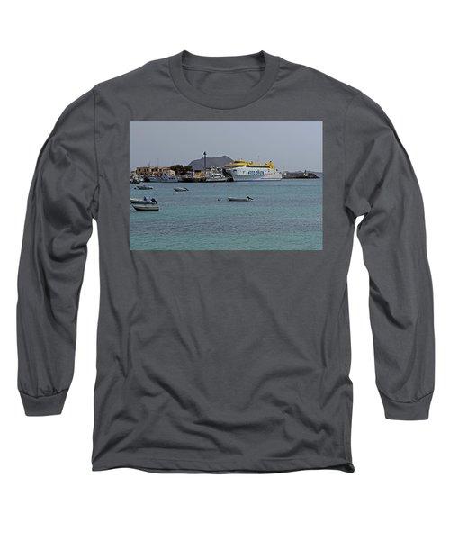 Corralejo Harbour Long Sleeve T-Shirt