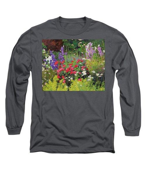 Cottage Garden Long Sleeve T-Shirt