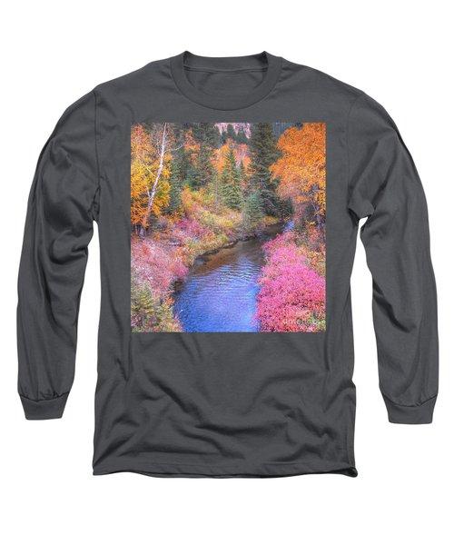 Cotton Candy Creek Long Sleeve T-Shirt