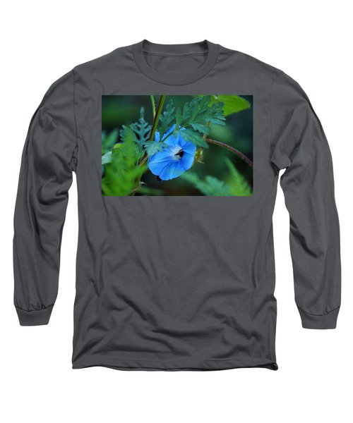 Country Blue Long Sleeve T-Shirt