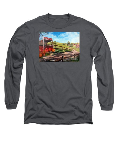 Country Life Long Sleeve T-Shirt by Lee Piper