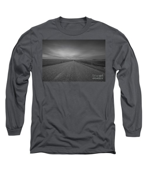 A Country Road Of South Dakota Long Sleeve T-Shirt