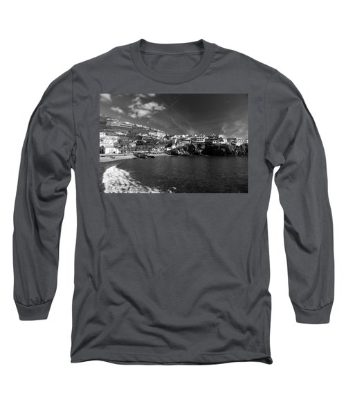 Cove In Black And White Long Sleeve T-Shirt