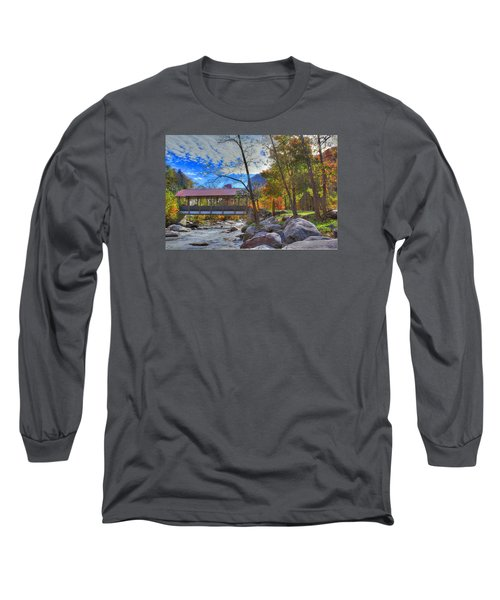Covered Bridge Long Sleeve T-Shirt