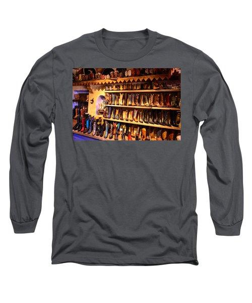 Cowboy Boots Long Sleeve T-Shirt