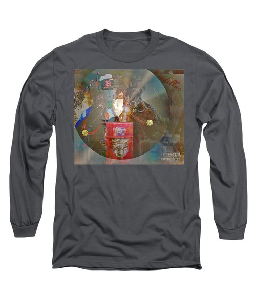 Cowgirl Cadillac Long Sleeve T-Shirt