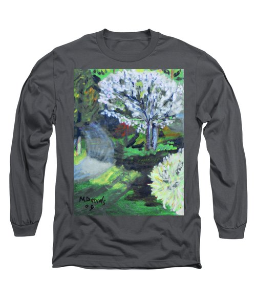 Crab Apple Tree Long Sleeve T-Shirt