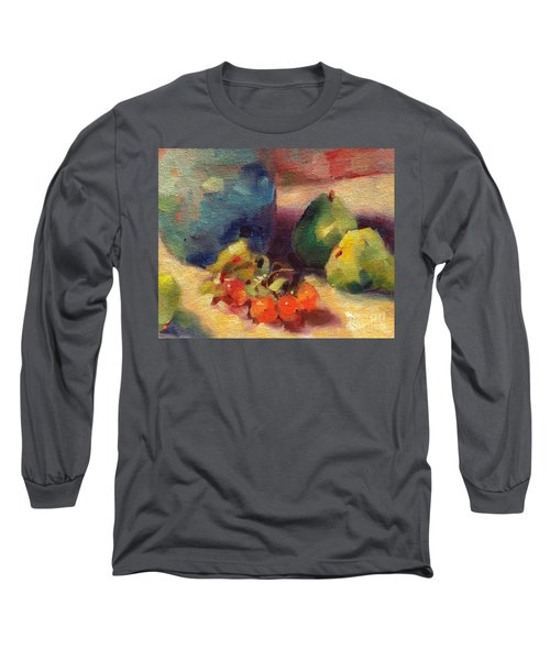Crab Apples And Pears Long Sleeve T-Shirt