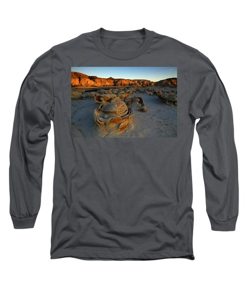 Cracked Eggs In The Bisti Badlands  Long Sleeve T-Shirt