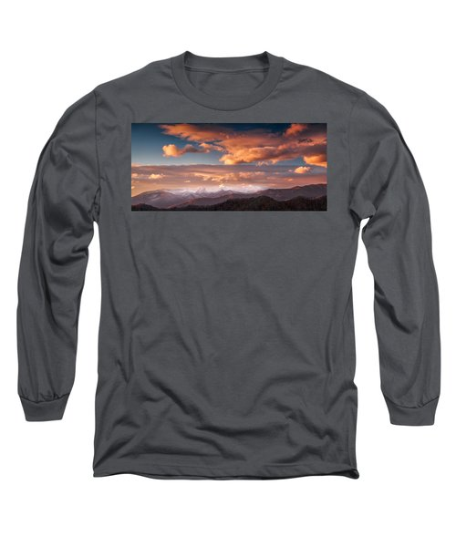 Craggy Snow Long Sleeve T-Shirt