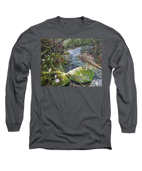 Creek -  Beyond The Rock - Mountaintown Creek  Long Sleeve T-Shirt