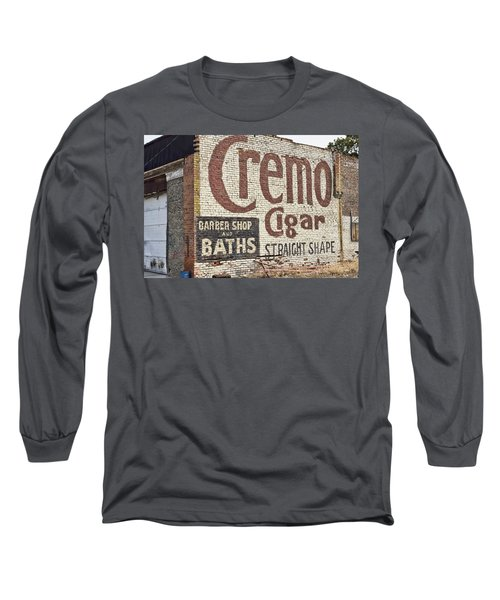 Cremo Cigar Long Sleeve T-Shirt by Cathy Anderson