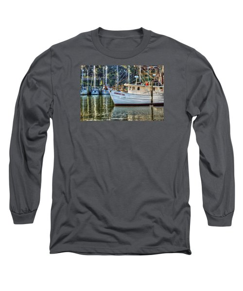 Crimson Tide In The Sunshine Long Sleeve T-Shirt by Michael Thomas
