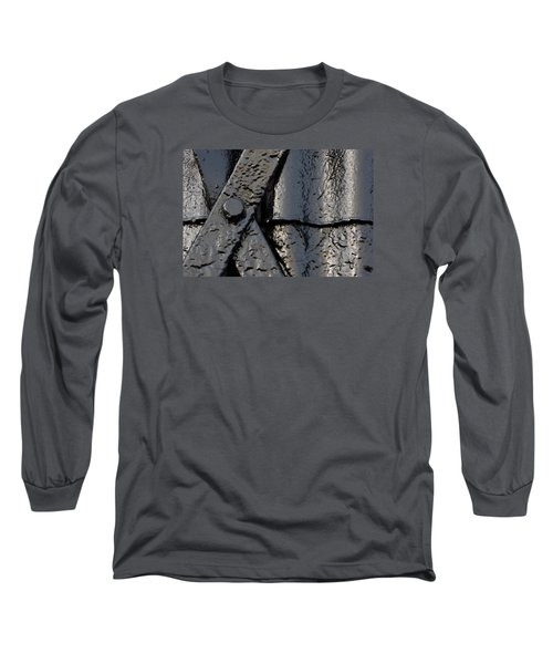 Long Sleeve T-Shirt featuring the photograph Cross Over by Wendy Wilton