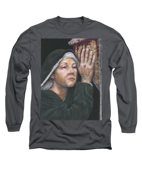 Crucifixion- Mothers Pain Long Sleeve T-Shirt
