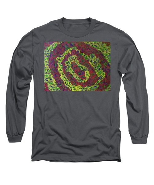 Long Sleeve T-Shirt featuring the painting Crying Rocks by Jonathon Hansen