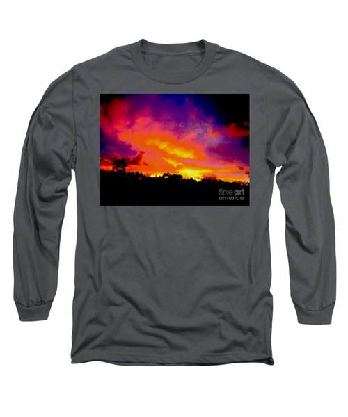 Crystal Sunrise Long Sleeve T-Shirt by Mark Blauhoefer