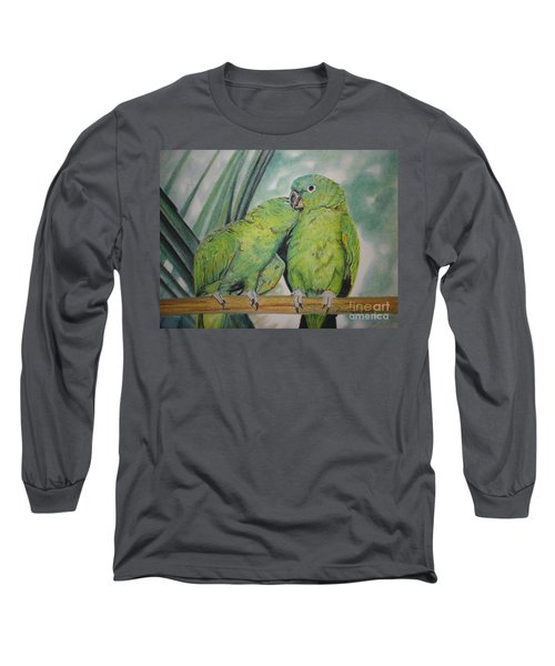 Cuddles Long Sleeve T-Shirt by Laurianna Taylor