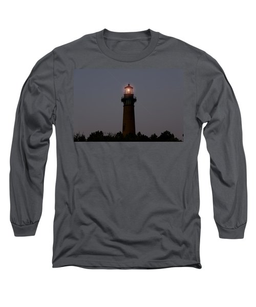 Long Sleeve T-Shirt featuring the photograph Currituck Lighthouse by Greg Reed