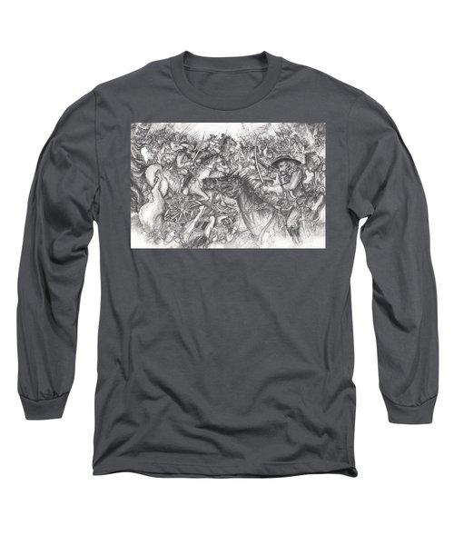 Custer's Clash Long Sleeve T-Shirt