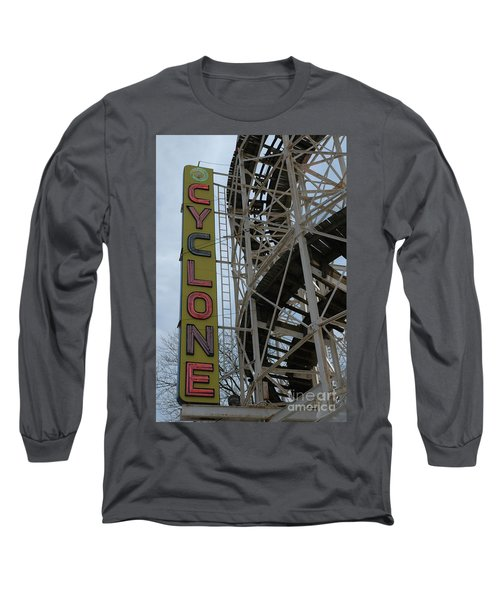 Cyclone - Roller Coaster Long Sleeve T-Shirt
