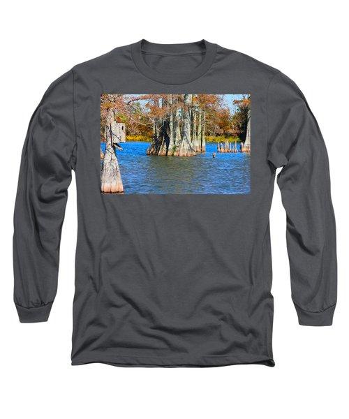 Cypress Birdhouse  Long Sleeve T-Shirt
