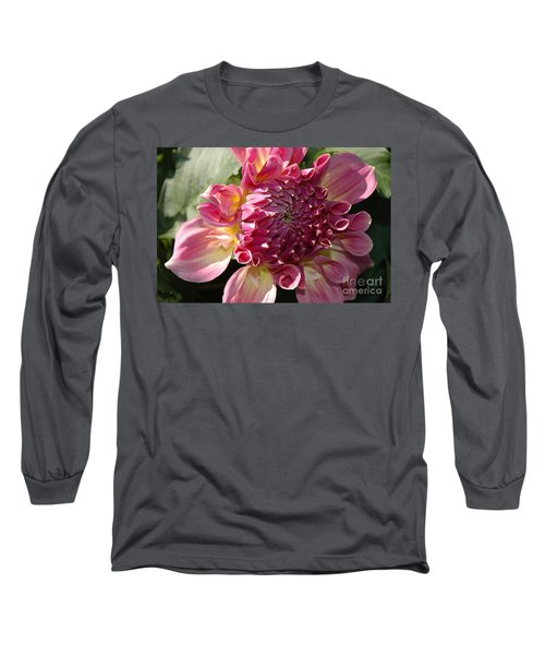 Long Sleeve T-Shirt featuring the photograph Dahlia V by Christiane Hellner-OBrien