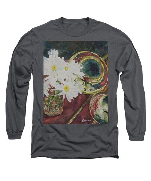 Daisies Bold As Brass Long Sleeve T-Shirt