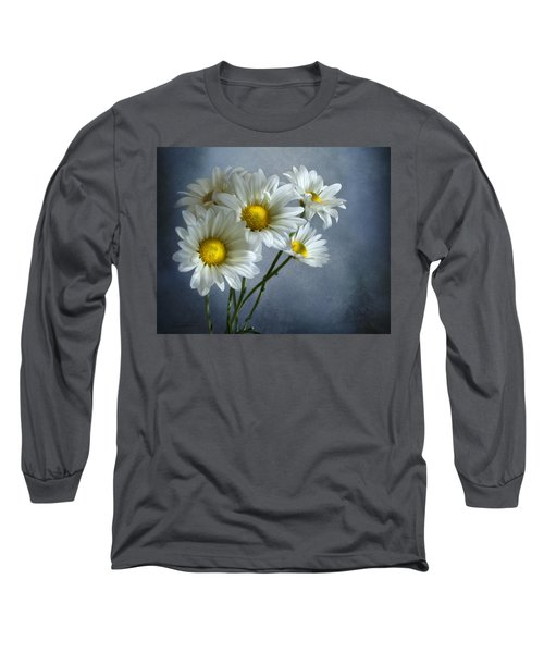 Long Sleeve T-Shirt featuring the photograph Daisy Bouquet by Ann Lauwers