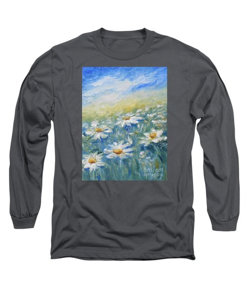Daisies Long Sleeve T-Shirt by Jane  See
