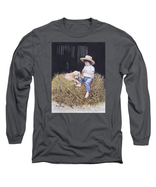 Daisy Long Sleeve T-Shirt by Nancy Cupp